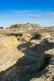 Érosion de terre Images stock