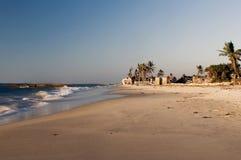 Érosion des plages Images stock