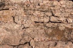 Érosion des structures géologiques dans la carrière de zachelmie images stock