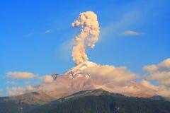 éruption photo stock