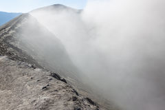 Éruption de Moutain Bromo Vulcano Photos stock