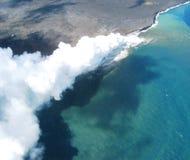 Éruption de volcan image stock