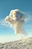 Éruption volcanique image stock