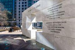 A ésos servimos el monumento en Maryland Fotos de archivo libres de regalías