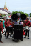 Ésta es ceremonia de la ordenación y cultura tailandesa Fotos de archivo