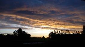 Ésta es foto del cielo foto de archivo