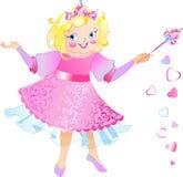 Ésta es hada-princesa stock de ilustración
