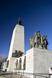 Éste es el monumento del lugar Fotos de archivo