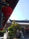 Éste es el paisaje de la calle constructiva antigua en Huizhou, China imágenes de archivo libres de regalías