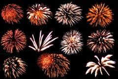 Éste es fuegos artificiales Fotografía de archivo