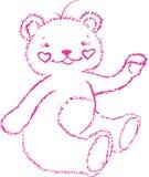 Éste es llevar-cachorro rosado stock de ilustración