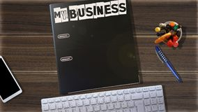 Éste es mi negocio, mi trabajo adicional imagen de archivo