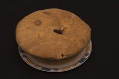 Éster rústico típico de la comida de Casatiello Foto de archivo libre de regalías