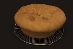 Éster rústico típico de la comida de Casatiello Imagenes de archivo