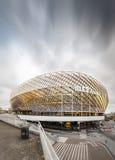 ÉSTOCOLMO - OUTUBRO, 29: A arena Tele2, é um stad interno de múltiplos propósitos fotos de stock royalty free