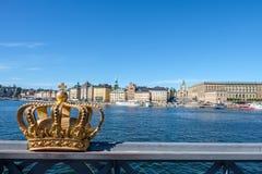 Éstocolmo, Suécia Fotografia de Stock Royalty Free