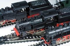 Trenes del modelo Imagen de archivo libre de regalías
