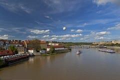 Été à Prague Photo stock