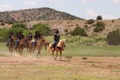 Été équin Fest de Las Golondrinas de démonstration. Photo libre de droits