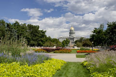 Été 2010 de capitol de Denver Images stock