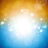 Été abstrait Sunny Background Photographie stock