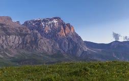Été au pied de la montagne de Shahdag Image stock