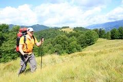 Été augmentant dans les montagnes Photos stock