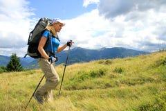 Été augmentant dans les montagnes Photo libre de droits