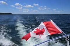 Été canadien sur la baie géorgienne Photographie stock