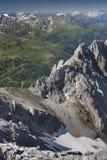 été d'Autrichien d'alpes Photo stock
