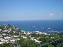 Été dans Capri 4 Images libres de droits
