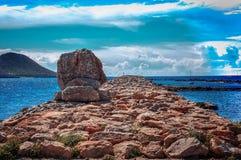 Été dans Manga del Mar Menor Photographie stock