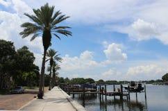 Été de baie de la Floride photo libre de droits