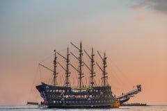 Été de bateau de pirate La Turquie Photographie stock