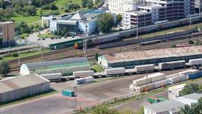 Été de chemin de fer de Moscou Photos libres de droits