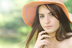 Été de fille Photographie stock libre de droits