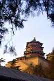 été de palais de porcelaine de Pékin photographie stock libre de droits