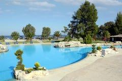 Été de piscine Photographie stock libre de droits
