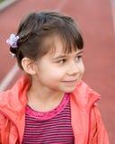 Été de portrait de petite fille dehors photo stock