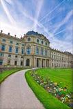 Été de résidence de Wurtzbourg au printemps images libres de droits