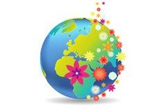 Été de saison de la terre illustration libre de droits