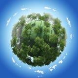 Été de saison de planète Photo libre de droits