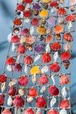 Été de souvenirs de mollusques et crustacés Images stock