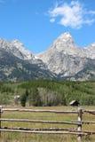 Été de Teton Image libre de droits