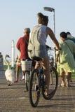 Été de vélo d'équitation de fille Photographie stock libre de droits