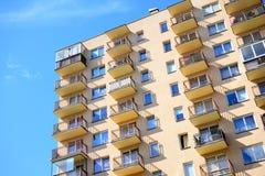 Été en capitale de secteur de Pasilaiciai de ville de la Lithuanie Vilnius Photos stock