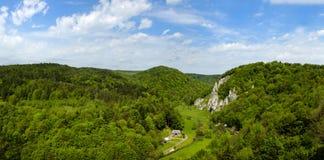 Été en parc national d'Ojcow Images libres de droits