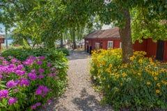 Été en Suède Photographie stock libre de droits