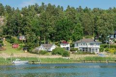 Été en Suède Photo stock
