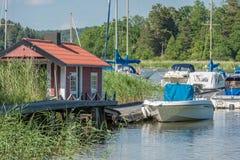 Été en Suède Photographie stock